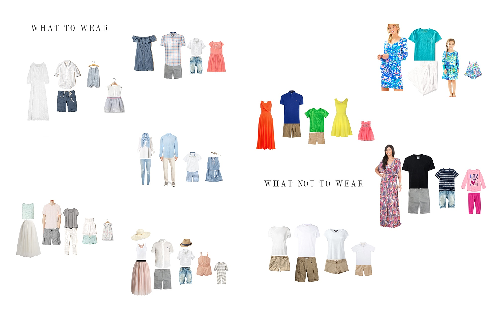 What to wear beach session