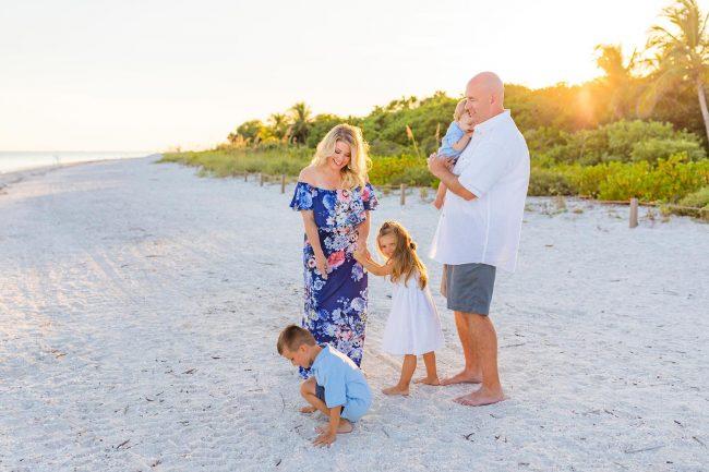 bonita springs florida family beach photography