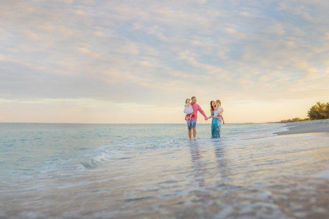 captiva island family beach photography
