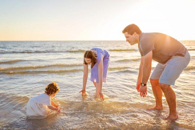 family beach photos cape coral florida