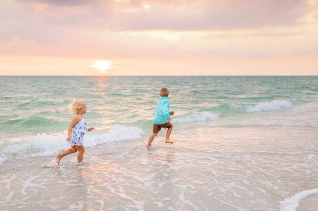 family photographer ft myers beach florida beach vacation