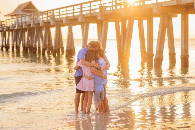 family photographer ft myers florida beach vacation