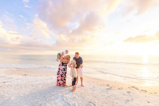 family photographer sanibel island florida vacation