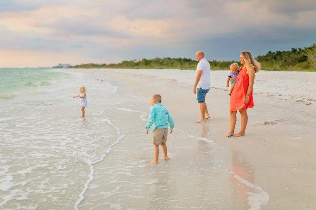 family photographer venice florida beach vacation