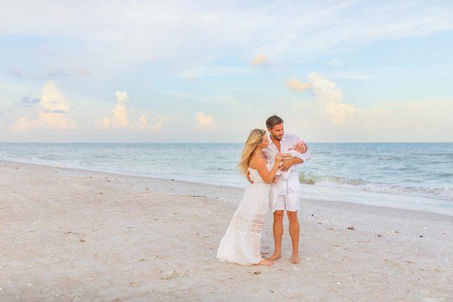 family portraits on the beach captiva island florida photographer