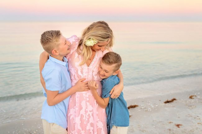family portraits on the beach marco island florida photographer