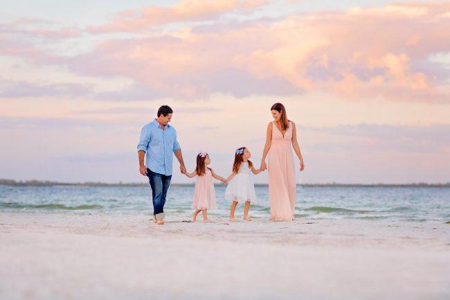 family vacation photography session sanibel island