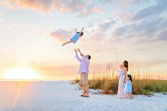 ft myers florida family vacation photography