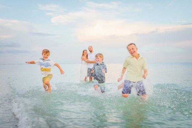 sanibel island family beach photography