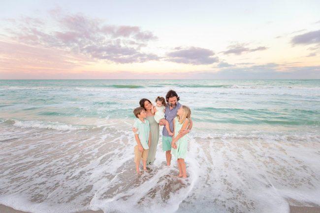 venice florida family beach photography